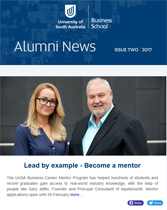 Business Alumni news Cover