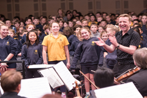 Children with Adelaide Symphony Orchestra