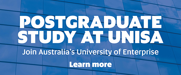Postgraduate Study at UniSA, Study at UniSA - Learn more