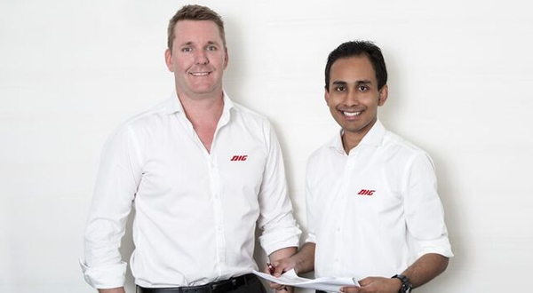 Brett Dienhoff and Nabil Imran