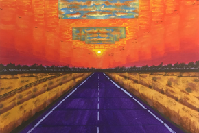 Road into Sunset, Art by Prisoners
