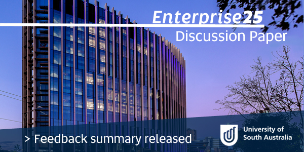 Enterprise25, Discussion Paper - Feedback summary released