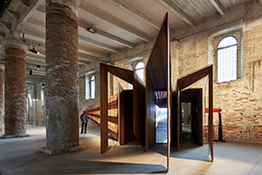 Somewhere Other by John Wardle Architects installed in the Arsenale di Venezia for the 2018 Biennale Architettura. Photo: Peter Bennetts