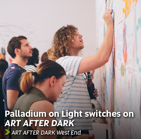 Art After Dark October launch - Proudly sponsored by Palladium on Light