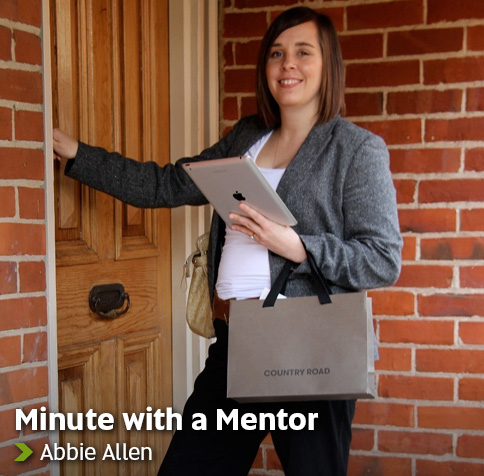 Minute with a Mentor - Abbie Allen