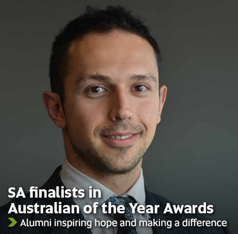 SA finalists in Australian of the Year Awards - Alumni inspiring hope and making a difference