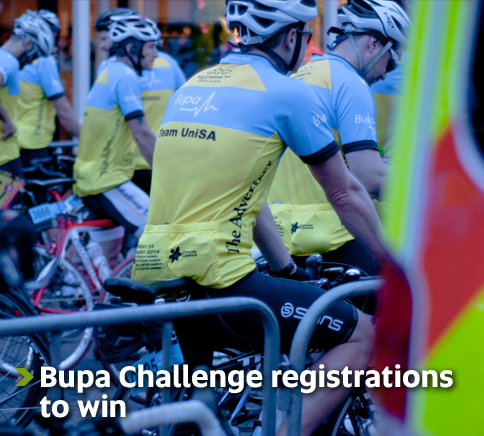 Bupa Challenge Tour - Free registrations, be quick!