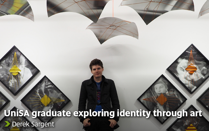 UniSA graduate exploring identity through art - Derek Sargent