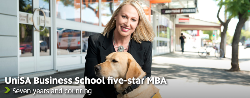 UniSA Business School five-star MBA - Seven years and counting