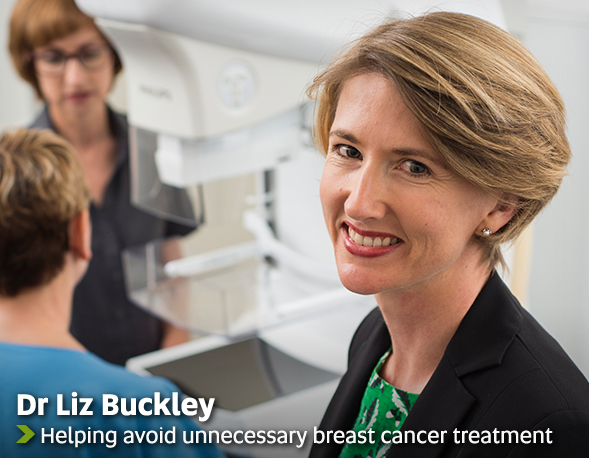 Dr Liz Buckley - Helping avoid unnecessary breast cancer treatment