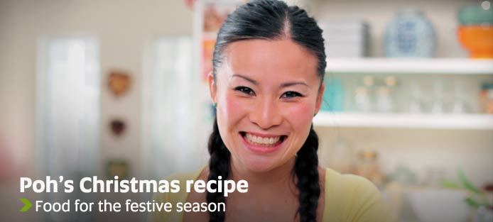 Poh's Christmas recipe - Food for the Christmas season