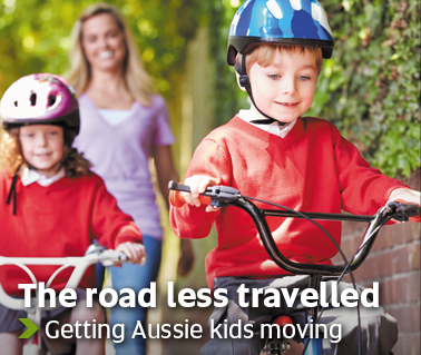 The road less travelled - Getting Aussie kids moving