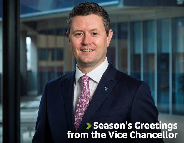 Season's Greetings from the Vice Chancellor
