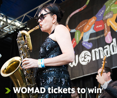 WOMADelaide alumni offer - Free tickets and discounts
