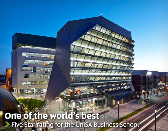 One of the world's best - Five star rating for the UniSA Business School