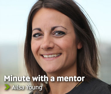 Minute with a mentor - Ailsa Young