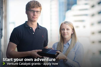 Start your own adventure - Venture Catalyst grants, apply now