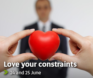 Love your constraints - 24 and 25 June