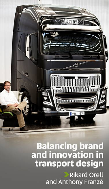 Balancing brand and innovation in transport design - Rikard Orell and Anthony Franze