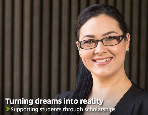 Turning dreams into reality - Supporting students through scholarships