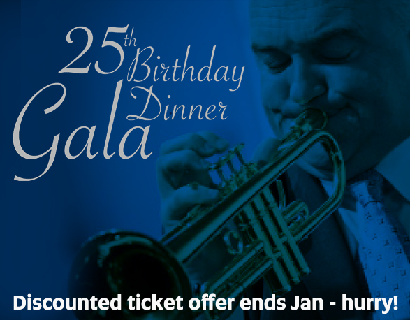 25th Birthday Gala Dinner - Discounted tickets close January 29 2016