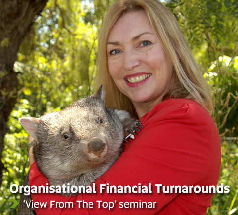Organisational Financial Turnarounds - 'View From The Top' Seminar