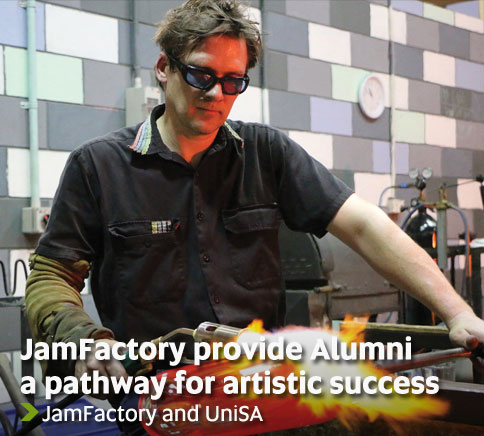 JamFactory provide Alumni a pathway for artistic success - JamFactory and UniSA