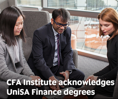 CFA Institute acknowledges UniSA Finance degrees