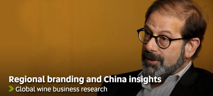 Regional branding and China insights - Global wine business research