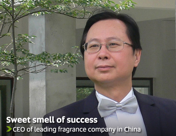 Sweet smell of success - CEO of leading fragrance company in China