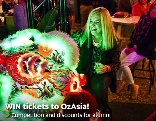 WIN tickets to OzAsia! - Competition and discounts for alumni