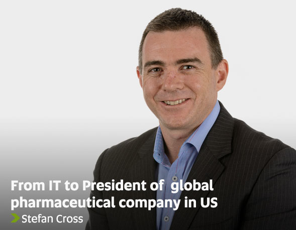 From IT to President of pharmaceutical company in US - Stefan Cross