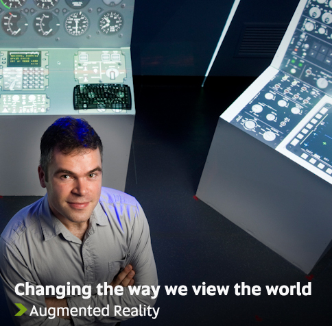 Changing the way we view the world - Augmented Reality