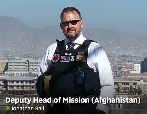 Deputy Head of Mission (Afghanistan) - Jonathan Ball