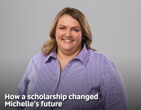 How a scholarship changed Michelle's future