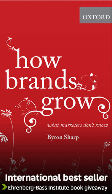 How Brands Grow - Ehrenberg-Bass Institute book giveaway