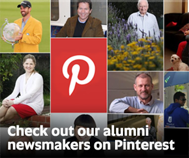 Check out our alumni newsmakers on Pinterest