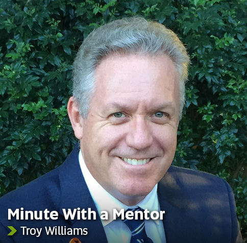 Minute With a Mentor - Tony Williams